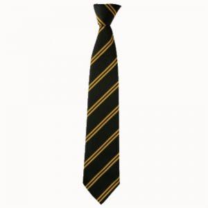 black gold tie