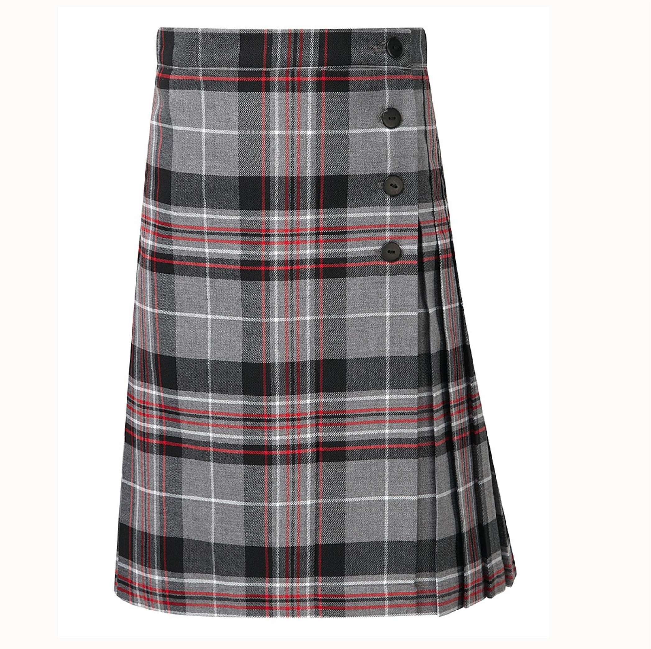 d91094bf7 Kelso Tartan Grey Kilt - Crested School Wear