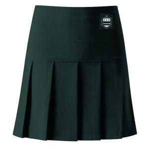 alleynes high pleat skirt