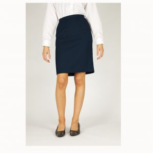 Straight Senior Navy Skirt
