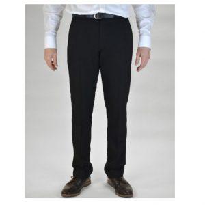Trutex Slim Leg Black TLT Trousers