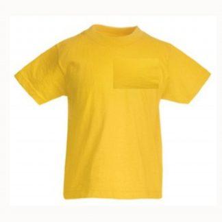 plain yellow t shirt