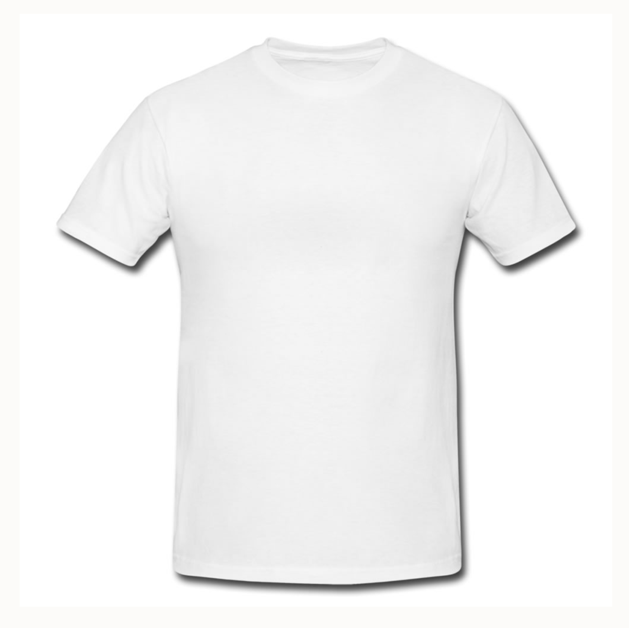 plain white t shirt crested school wear