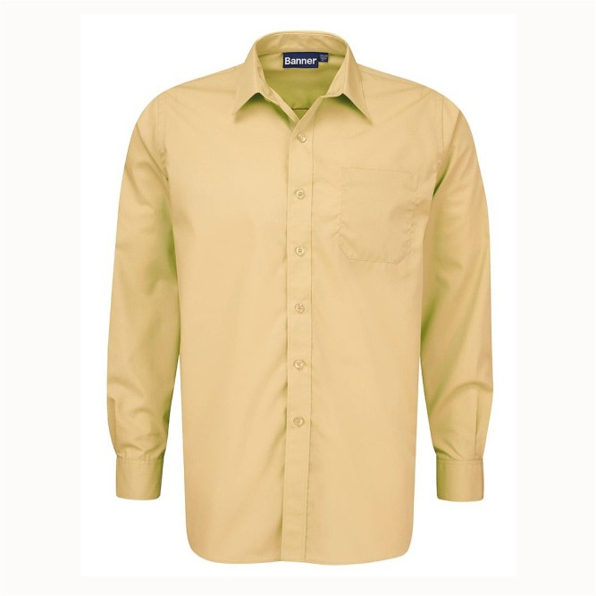 Lighting Shops Near Erdington: Boys Twin Pack Long Sleeve Cream Shirts