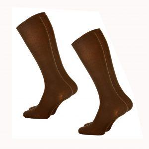 Brown Socks (Pack of 3)