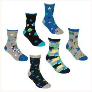 Boys Patterned Socks
