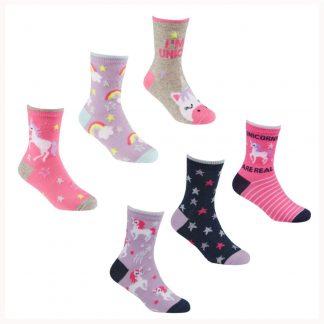 Girls Patterned Socks