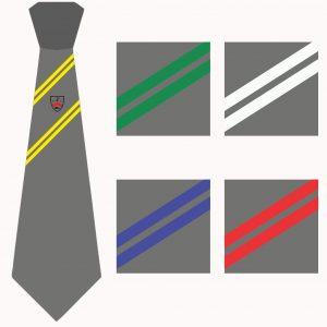 Bishop Milner Girls House Tie