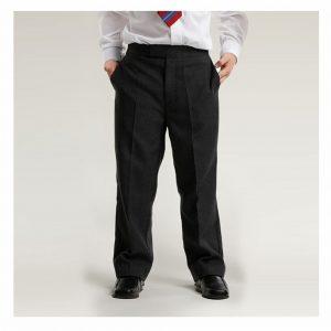 Black Sturdy Junior Boys Trousers